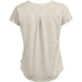 VAUDE Skomer V-Neck T-Shirt Women, ecru